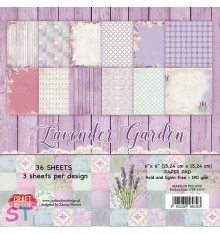 Paper pad Lavender Garden 6x6 Craft & You
