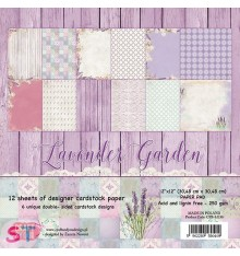 Paper pad Lavender Garden 12x12 Craft & You