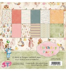 Paper pad Birthday 12x12 Craft & You