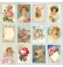 Rose Garden Elements 12x12 Craft & You