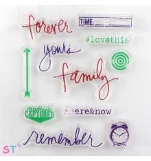 Sellos de silicona Family