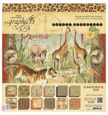 Paper Pad Safari Adventure 12x12 Graphic45