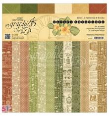 Paper Pad Safari Adventure Solids 12x12 Graphic45