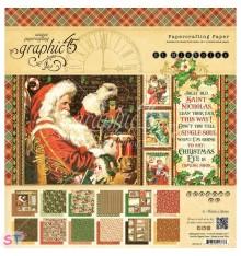 Paper Pad St Nicholas 12x12 Graphic45