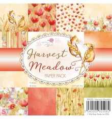 Paper pad Harvest Meadow Wild Rose Studio 6x6
