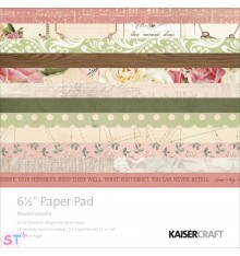 Paper pad Mademoiselle 6,5x6,5