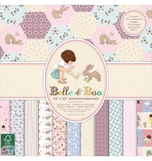 Paper Pad Belle & Boo II 12x12