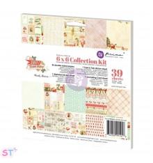 Paper pad Sweet Peppermint 6x6 Prima Marketing
