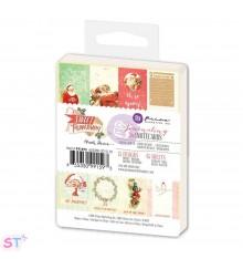 Sweet Peppermint Journaling Notecards de Prima Marketing
