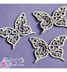 Mariposas Steampunk x 3