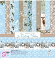 Paper A Taste of Winter 12x12 Scrapberrys