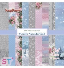 Paper Winter Wonderland 6x6 Scrapberrys