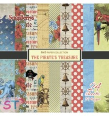 Paper Pad The Pirates Treasure 6x6 Scrapberrys
