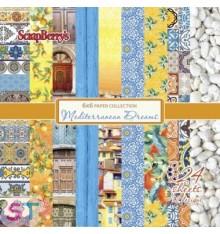 Paper Pad Mediterranean Dreams 6x6 Scrapberrys