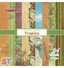 Paper Pad Tropics 6x6 Scrapberrys