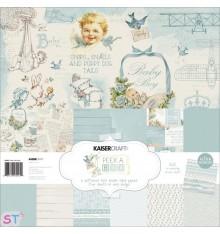 Paper pad Peek-A-Boo Boy 12x12