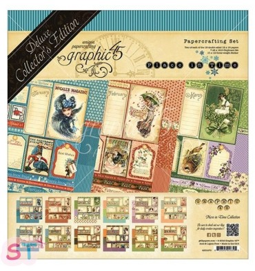 Deluxe Collector Pack Place In Time 12x12 Graphic45