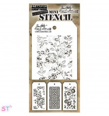 Mini Plantilla Tim Holtz 25