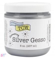 Silver Gesso