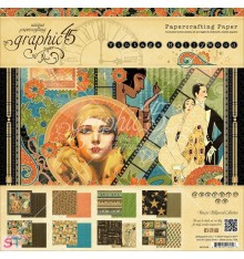 Paper Pad Vintage Hollywood 8x8 Graphic45