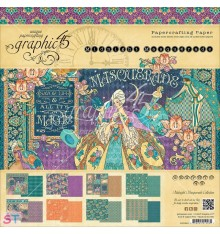 Paper Pad Midnight Masquerade 12x12 Graphic45
