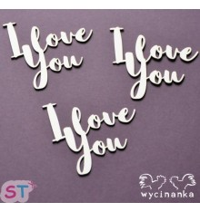 I Love You x 4