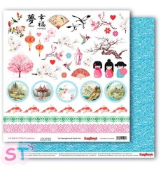 Paper Japanese Dreams Then and Now Scrapberrys