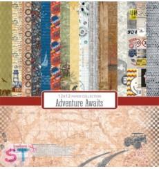 Paper Pad Adventure Awaits 12x12 Scrapberrys