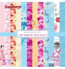 Paper Pad Japanese Dreams 6x6 Scrapberrys
