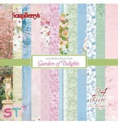 Paper Pad Garden of Delights 6x6 Scrapberrys