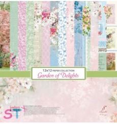Paper Pad Garden of Delights 12x12 Scrapberrys