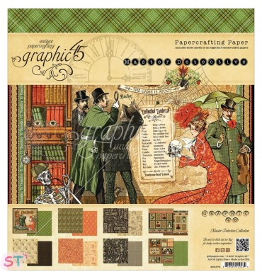 Paper Pad Master Detective 8x8 Graphic45