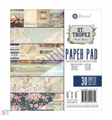 Paper pad St. Tropez 6x6 Prima Marketing