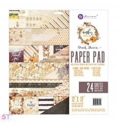 Paper pad Amber Moon12x12 Prima Marketing
