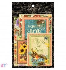 Seasons Ephemera Cards Graphic 45
