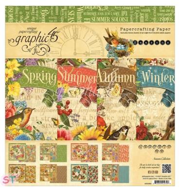Seasons 8x8 Graphic45