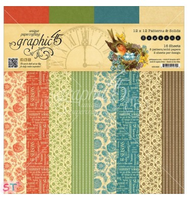 Paper Pad Seasons Solid 12x12 Graphic45