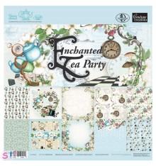 Paper pad Enchanted Tea Party 12x12