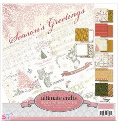 Paper pad Seasons Greetings 12x12