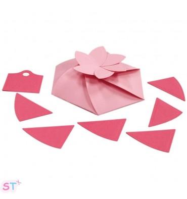 Troqueles XL Caja Hexagon Pinwheel