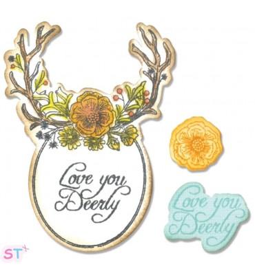 Sweet Deer x5 con sellos