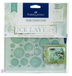 Plantilla Ice Layers Bubbles