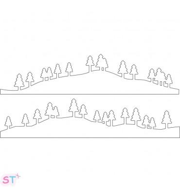Troquel Trees & Hills