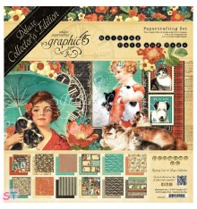 Deluxe Collector Pack Raining Cats & Dogs 12x12 Graphic45