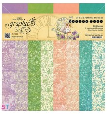 Paper Pad Fairie Dust Solid 12x12 Graphic45