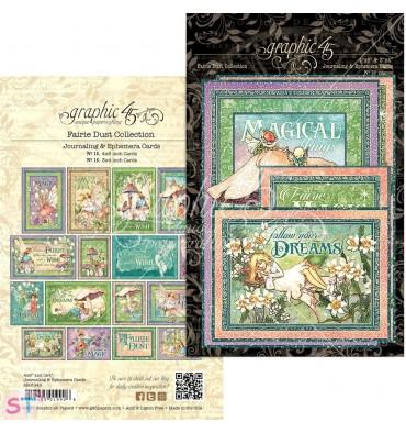 Fairie Dust Ephemera Cards Graphic 45
