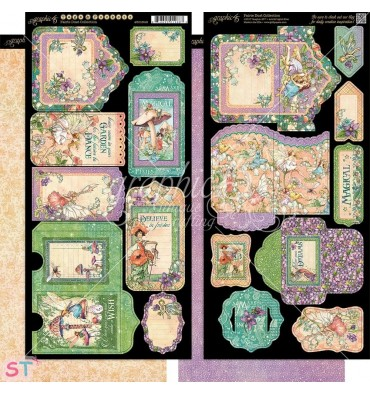 Fairie Dust Tags & Pockets Graphic 45