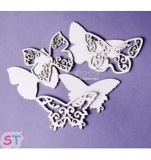 Mariposas dos capas x 3