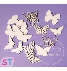Mariposas x 15