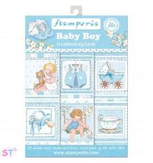 Baby Boy Stamperia Cards